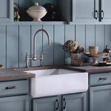 Kohler farmhouse sink and faucet Kitchen Design