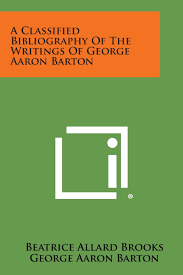 Buy Classified Bibliography of the Writings of George Aaron Bart Book  Online at Low Prices in India   Classified Bibliography of the Writings of  George Aaron Bart Reviews & Ratings - Amazon.in