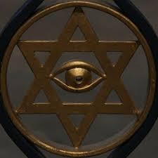 Hexagram Davidova Hvězda Je Satanův Symbol Bůh Je Jeden