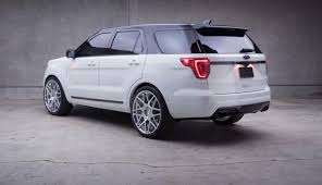 2018 ford interceptor sedan. brilliant 2018 2018 ford explorer sport rear in ford interceptor sedan