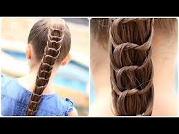 How To Make Cool Hairstyle how to create a knotted ponytail cute hairstyles youtube 5405 by stevesalt.us