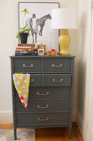 dark gray painted furniture