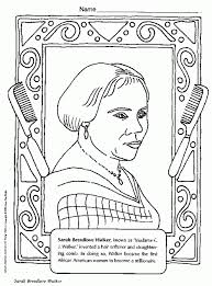 Black History Month Printable Coloring Pages Many Interesting Cliparts