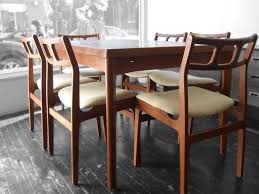 scandinavian teak dining room furniture homes design for astonishing mid century modern dining chairs the best