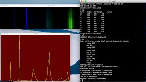 software for calibrating and reading spectrometer from usb camera