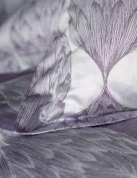 artichokes purple duvet cover