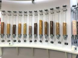 pro serv dry food dispenser long s ice cream parlor italy idm wall mount triple dry