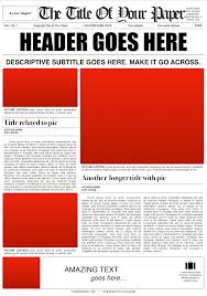 Harry Potter Newspaper Template Old Style Newspaper Template Design