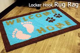 locker hook rug