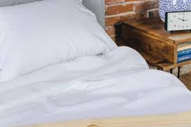 linen sheets review. Exellent Sheets Our Pick The Cultiver Linen Sheets Arranged In A Bedroom Intended Linen Sheets Review E