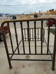 antique brass bed. Image Is Loading Antique-Brass-Bed-Full-Size Antique Brass Bed T