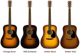 Martin Guitar Sunburst Guitars Maurys Music