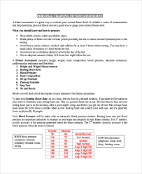 Sample Assessment Form Sample Training Assessment Form 5 Documents In Pdf
