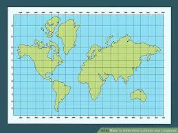 3 Ways To Determine Latitude And Longitude Wikihow