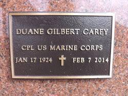 Duane Gilbert Carey (1924-2014) - Find A Grave Memorial