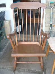 wooden rocking chair. Wooden Rocking Chair Vintage