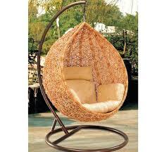 swing chair wicker truly outdoor p