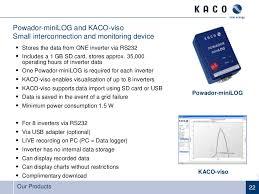 krannich solar imparte cursos de formación ponencia de kaco our products 21 22