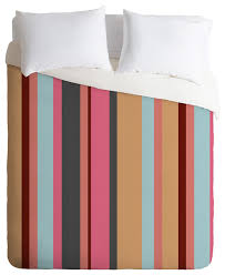 natalie baca baja mexicali stripe duvet cover set contemporary duvet covers and duvet sets by deny designs