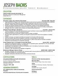 Environmental Science Resume Entry Level Environmental And
