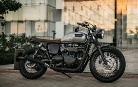 hell kustom triumph bonneville t100 by roa motorcycles