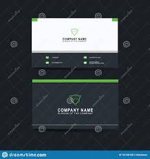 Abstract Design Company Modern Business Card Template Background Vector