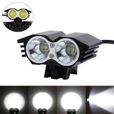 Xml U2 Bike Light Us 18 62 31 Off Front Bike Headlamp 6000 Lumens 2x Xm L U2 Led Lamp Cycling Light 6400mah Rechargeable Battery Pack Charger In Bicycle Light From