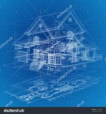 architecture blueprints 3d. Modren Architecture Blueprint House Stock Vectors Vector Clip Art Shutterstock Architectural  Background With A 3d Building Model On Architecture Blueprints
