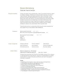 Financial Resume Template Best This Is Data Analyst Resume Template Financial Analyst Resume Format