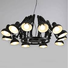 12 lights ceiling light chandelier scaleable spider