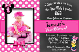 Free Minnie Mouse Birthday Invitations 17 Minnie Mouse Birthday Invitation Templates Psd Ai