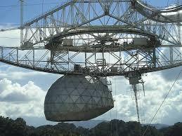 Resultado de imagen de radiotelescopio de Arecibo en Puerto Rico