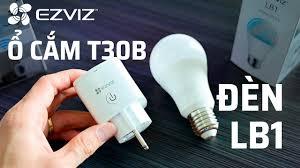 Trên tay bóng đèn thông minh LB1 và ổ cắm thông minh T30-10B của EZVIZ -  YouTube