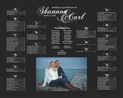 Wedding Seating Chart Poster Board Seating Chart