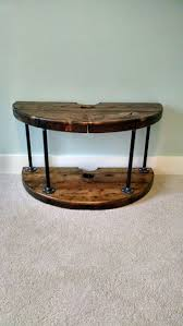 furniture making ideas. first attempt at making furniture wire spool tv and xbox stand ideas e