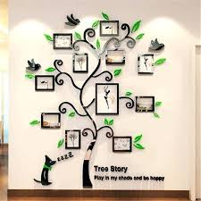 family frames for wall acrylic photo frames wall family tree stickers three dimensional wall sticker home family frames