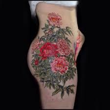 160 фото и эскизов тату пионы что значит татуировка пион