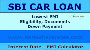 Sbi Car Loan Rate Of Interest Chart Sbi Car Loan Interest Rate 9 20 July 2017 Emi