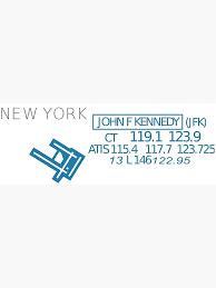 Aviation Sectional Chart New York Jfk Airport Photographic Print