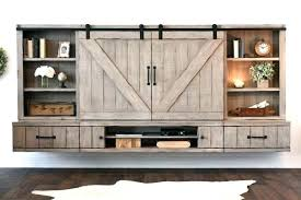 entertainment center with glass doors stand with doors barn door floating stand entertainment center farmhouse corner