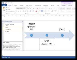 Word Project How To Make A Timeline In Microsoft Word Free Template
