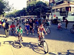 It is a delight to see the city's children have the opportunity to actively  enjoy open streets every Sunday, away from their indoor vide…   Photo,  Street, Kids bike