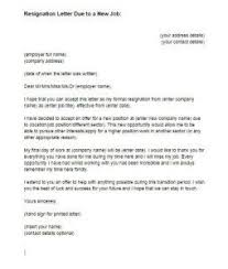 resignation letter format offer immediate resignation letter due    every support opportunities thankful resignation letter due to new job accept other company offer position reason