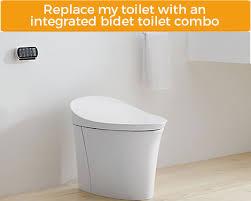 bidet toilet combo