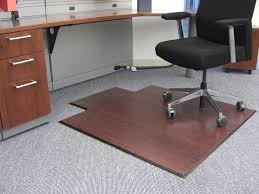 Incredible Desk Chair Mat For Carpet With Regard To Office Hardwood