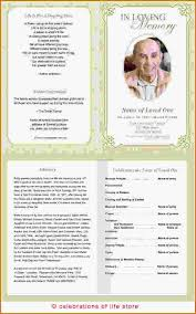 Funeral Program Word Template Stunning Cover Template Free Funeral Program Template For Word Cover Template