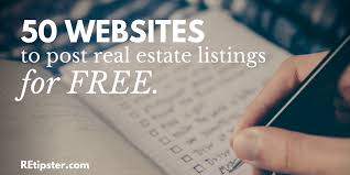 Free Home Sale Contract Custom 44 Websites To Post Your Real Estate Listings For FREE REtipster