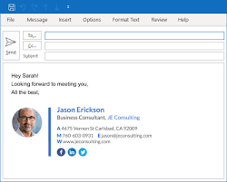 Email Signature Create An Outlook Signature Add A Signature In Outlook