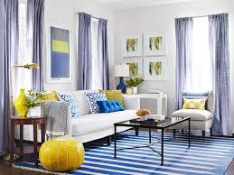 15 Colorful Reasons to Break From the Neutral Sofa. Blue CouchesYellow  CouchTeal SofaSoho LoftBricksHome DecorBlue Yellow Living RoomBlue ...