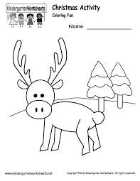 Free Printable Christmas Activities For Kindergarten – Fun for ...